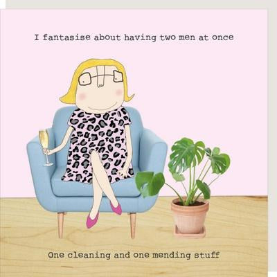 novelty card with quote for women