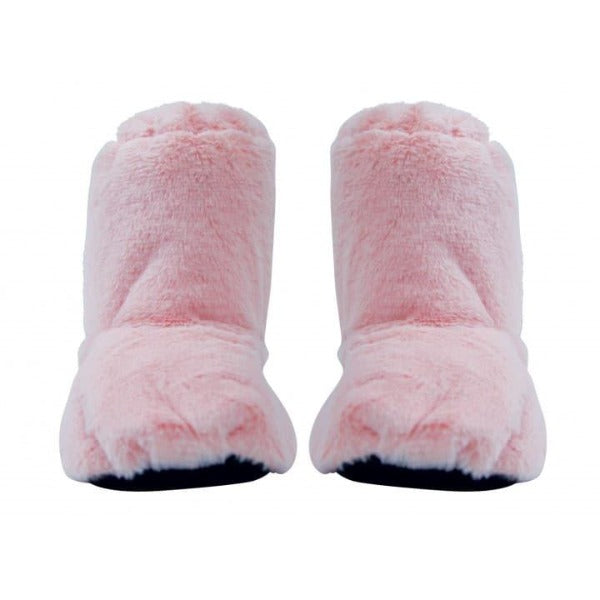 heatable slippers for women in pink