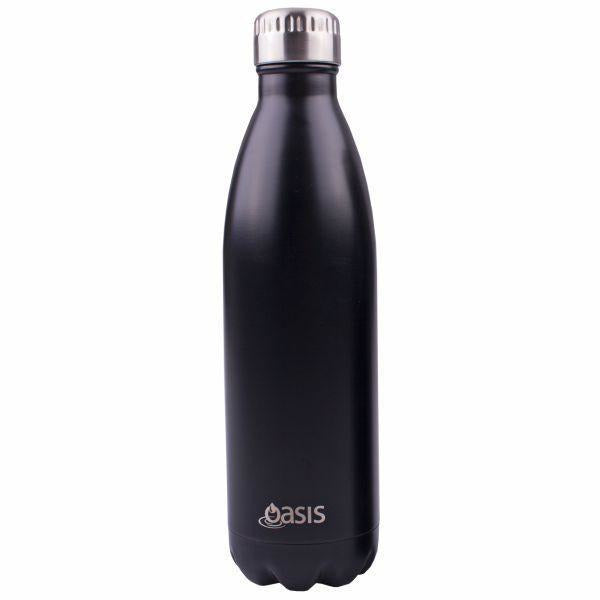 Black Insulated Bottle 750mL