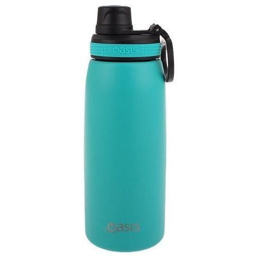 Turquoise Insulated Screw Cap Bottle 780ml