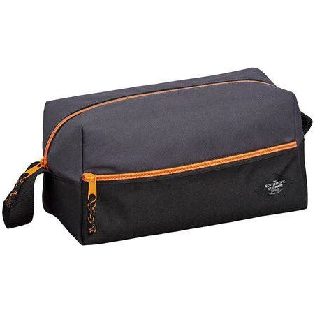 charcoal grey toiletry bag for men