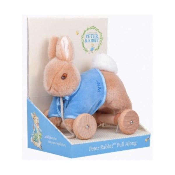 peter rabbit pull toy for children
