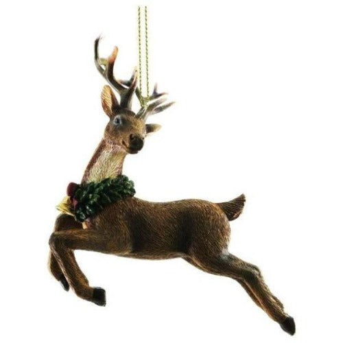 Woodland reindeer decoration