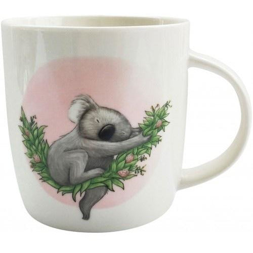 Renee Treml Sleeping Koala Mug