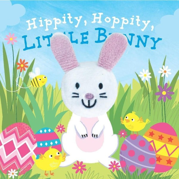 Easter Bunny Finger Puppet Book