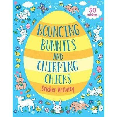 Bouncing Bunnies and Chirping Chicks Sticker Book