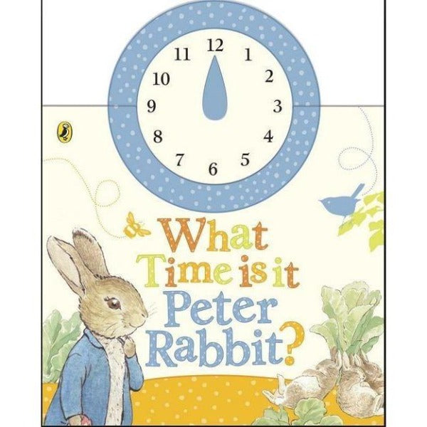What Time Is It Peter Rabbit Book