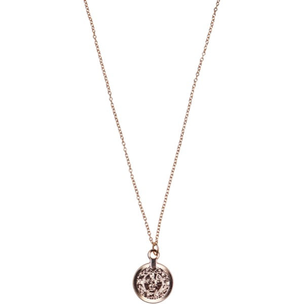 gold coin necklace for women