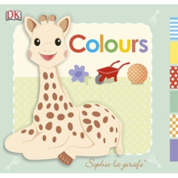 Sophie The Giraffe Colour Book