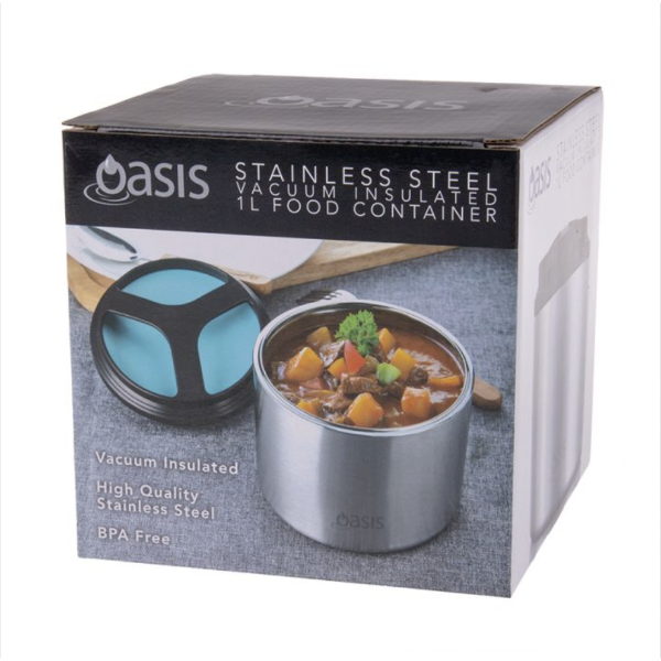 oasis vacuum insulated food container