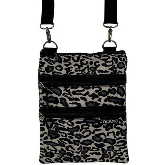 Ocelot Print 3 Zip Bag