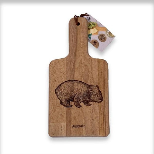 Wooden Wombat Cheese Board