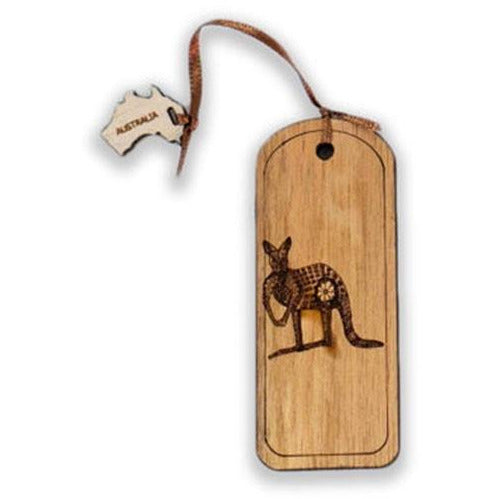 Engraved Kangaroo Bookmark