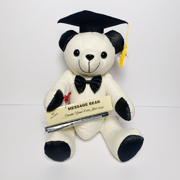 Graduation Message Bear