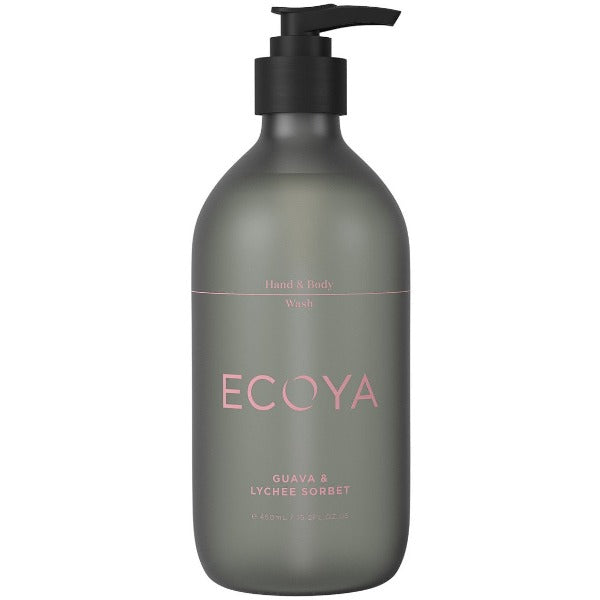 Guava and Lychee Sorbet Hand and Body Wash