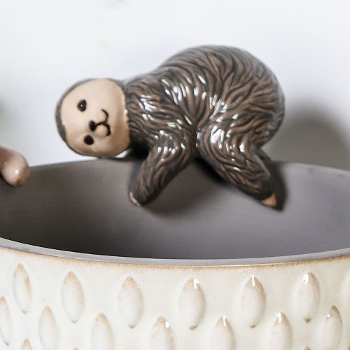 sloth pot hanger