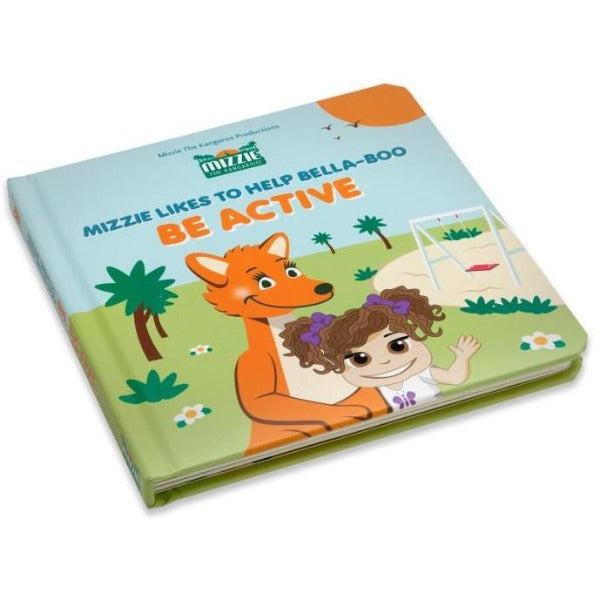Mizzie Kangaroo Be Active Book