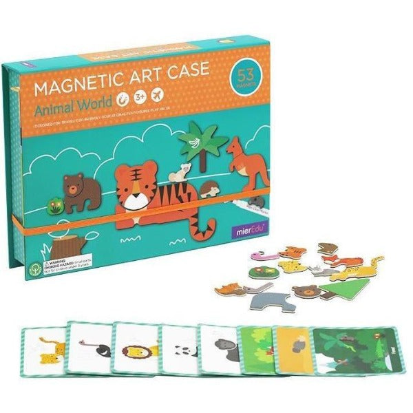 Animal World Magentic Art Case