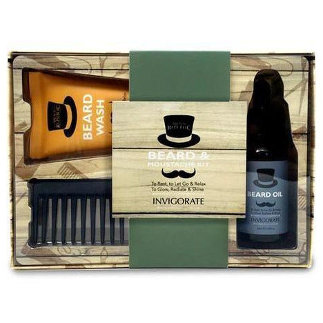 Beard Moustache Grooming Kit