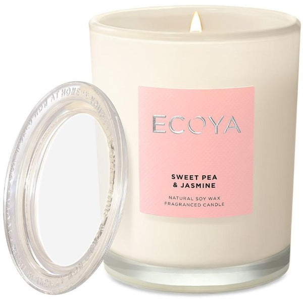 Ecoya Sweet Pea and Jasmine Candle