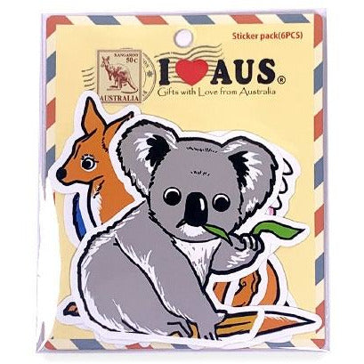 Australian Animal Sticker Set