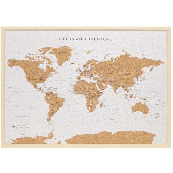 World Cork Travel Map
