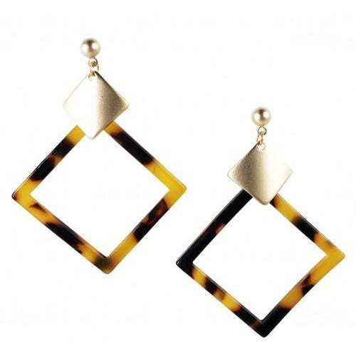 Tortoise Shell Earrings