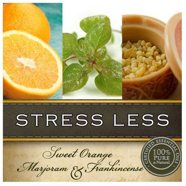 Sweet Orange, Marjoram and Frankincense Essential Oil Blend Massage Oil