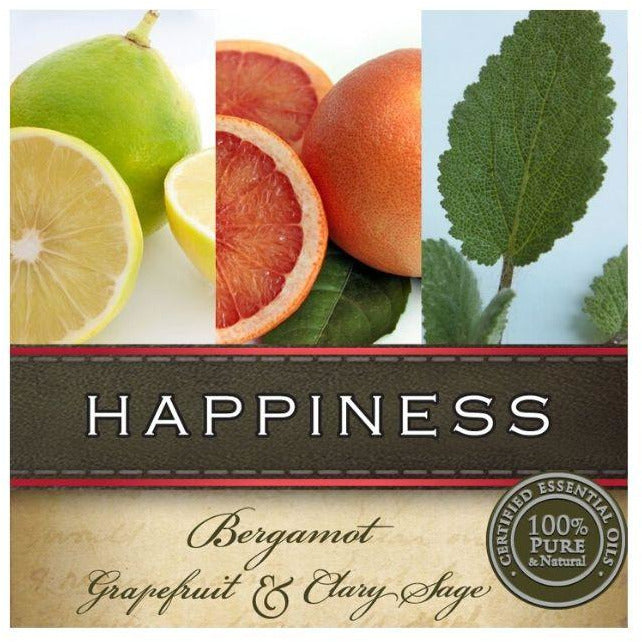 Bergamont, Grapefruit and Clary Sage Essential Oil Blend Massage Oil