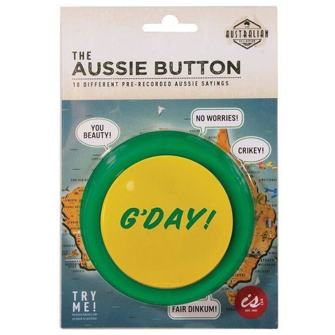 Aussie sayings button
