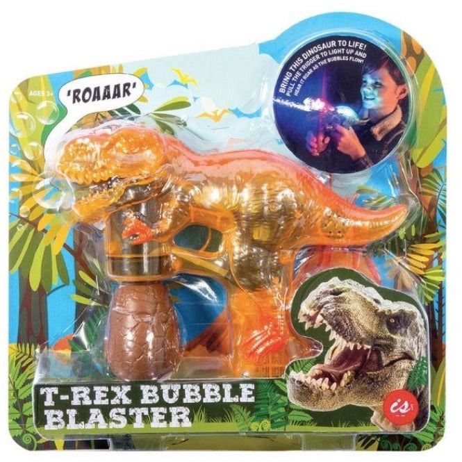 T-rex bubble blaster