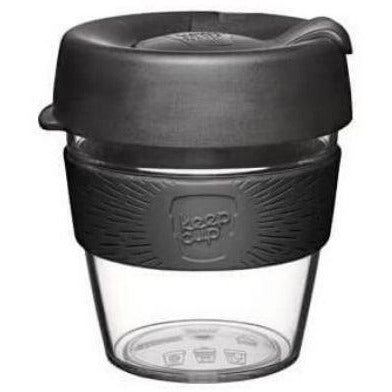 Black Small Clear KeepCup