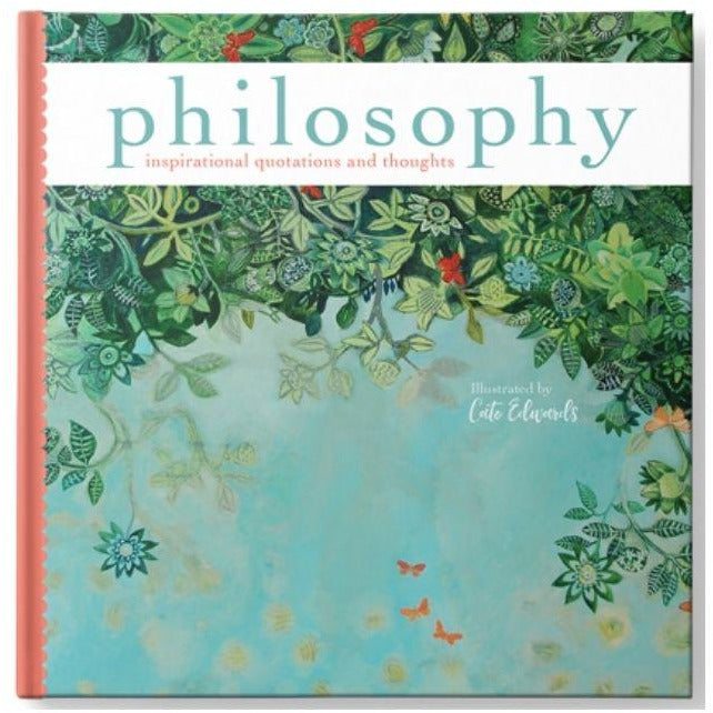 Philosophy inspirational quotes and thoughts book