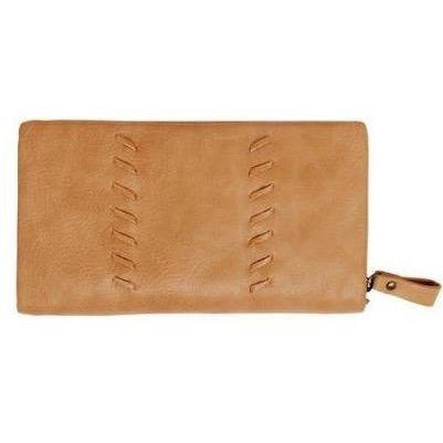 Tan Vegan Leather Wallet