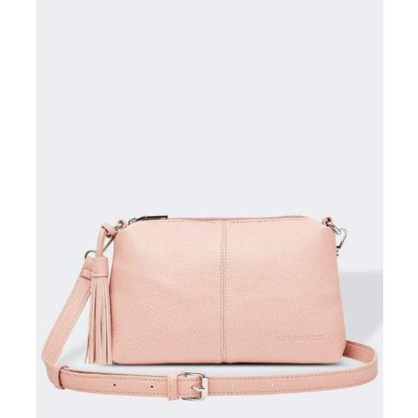 Baby Daisy Pale Pink Crossbody Bag