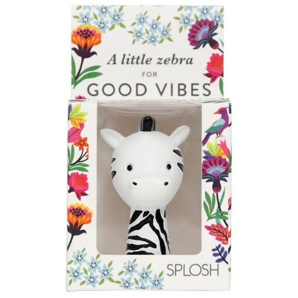 inspirational resin figure for women zebra