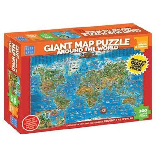 Around the World Jigsaw Puzzle 300 Pieces