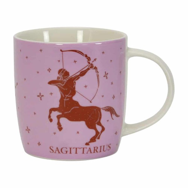 pink purple and brown sagittarius mug annabel trends for women