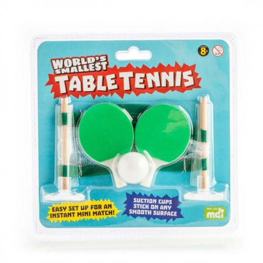 small novelty table tennit set