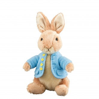 peter rabbit hand made plush soft toy for children