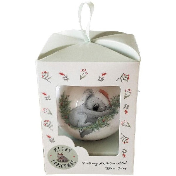 Koala bauble gift box