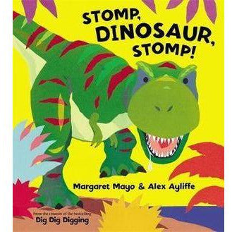 Stomp Dinosaur Stomp Book
