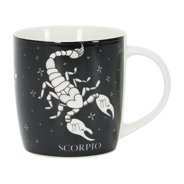 black and white scorpio mug annabel trends for women