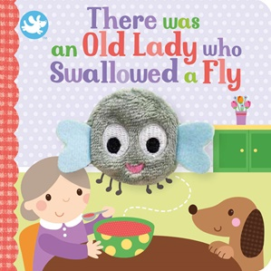 Old Lady Who Swallowed A Fly Puppet Book