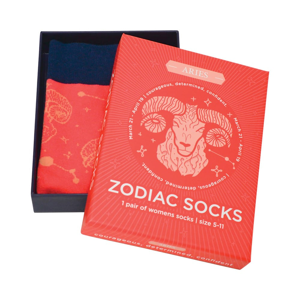 red aries boxed socks for women annabel trends