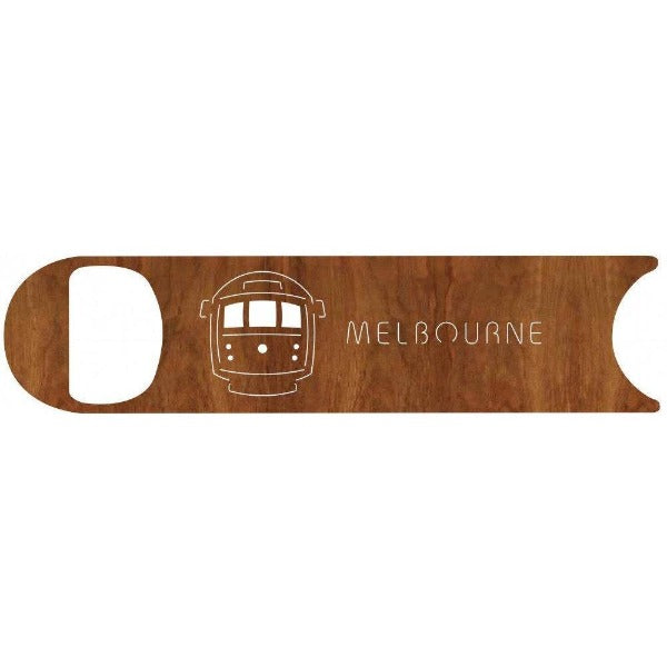 Melbourne Tram Blackwood Bottle Opener