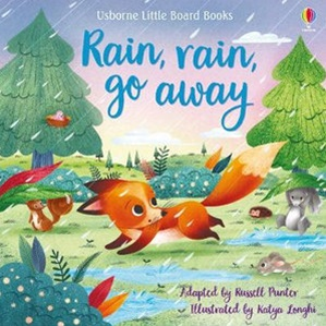 Rain Rain Go Away book
