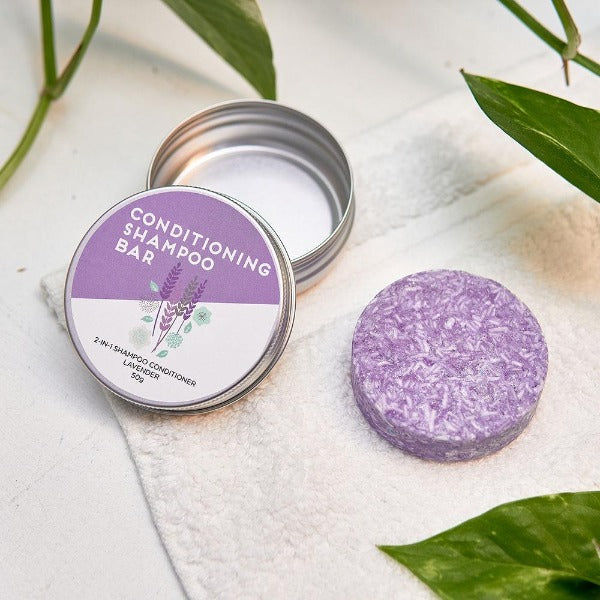 conditioning shampoo bar lavender