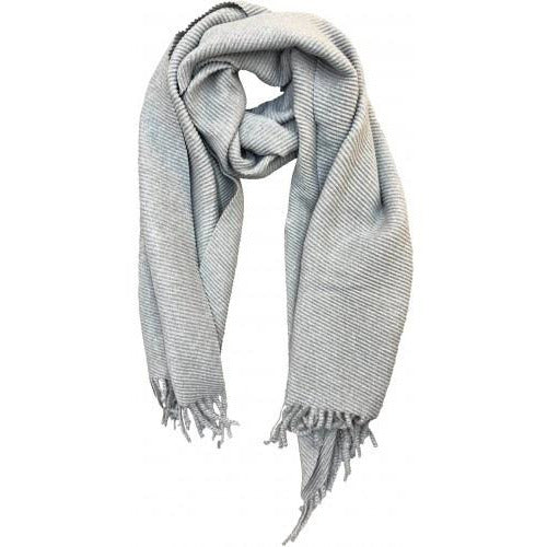 Grey Winter Scarf