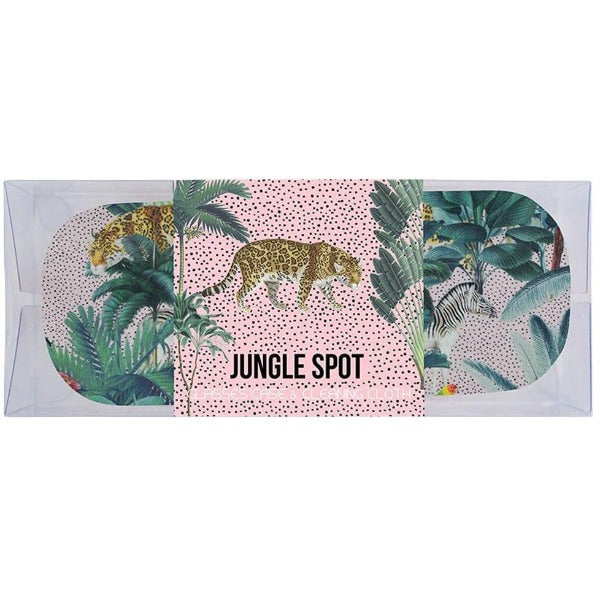 Jungle Spot Print Glasses Case